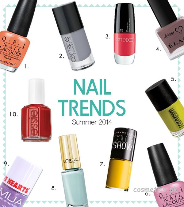 most popular nail polish color for summer creative touch