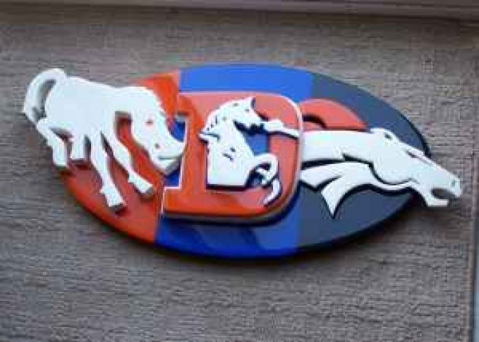 Denver broncos | Denver Broncos 3D wooden wall plaque...all 3 logos! - $90 ...