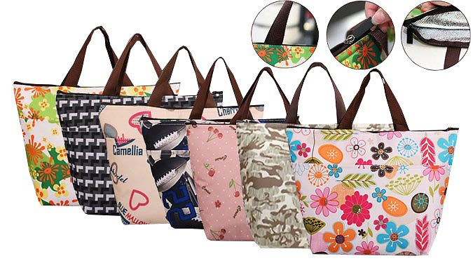 Buy Thermal Lunch Bag - 7 Designs UK deal for just: £4.99 Pack in the savings with a Thermal Lunch Bag      Available in seven colourful designs      Second design will be sent at random      Zip lock fastening to maintain temperature and keep your snacks safe      Made from oxford and high quality insulation aluminium film      Helps keep hot dishes warm, and cold dishes cool      Sturdy...