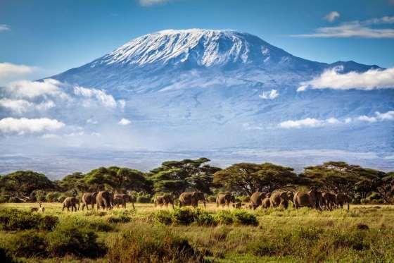 Monte Kilimanjaro na Tanzânia