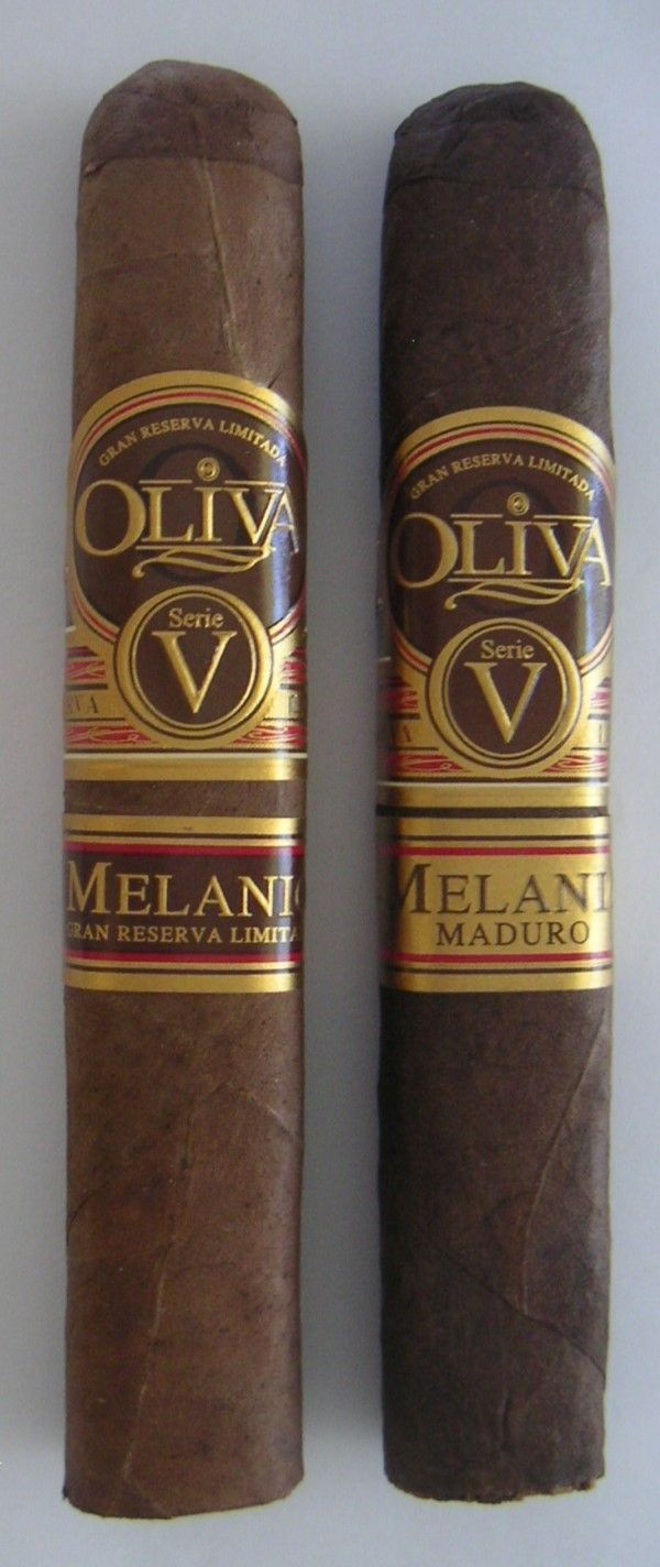 Review of Oliva Serie V Melanio and Maduro Robusto Cigars: http://cigarczars.com/review/oliva-melanio-cigar.htm#maduro