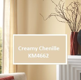 Enlivened neutrals the wall color creamy chenille km4662 for Creamy neutral paint colors