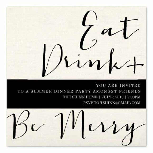 28 best Dinner Party Invitations images on Pinterest Dinner