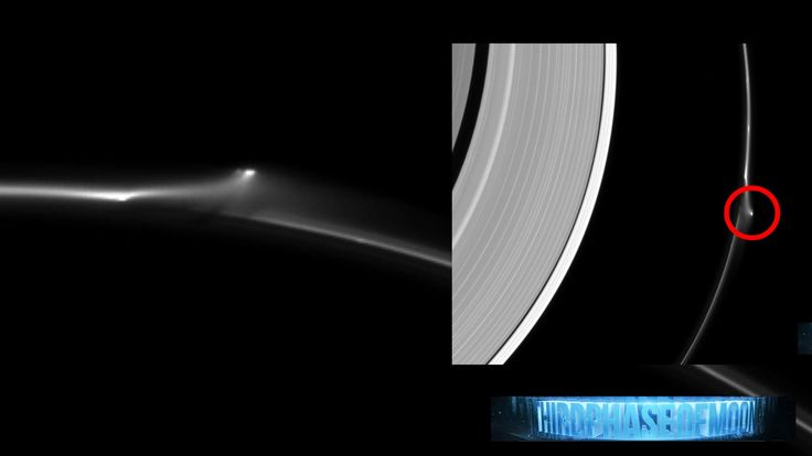 WOW!! SUPER SIZED UFO STAR CRAFT RIPS SATURN'S F-RING ...
