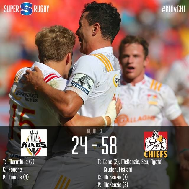 The two-time #SuperRugby champs proved far too good for the Kings as they left Port Elizabeth with a bonus point.