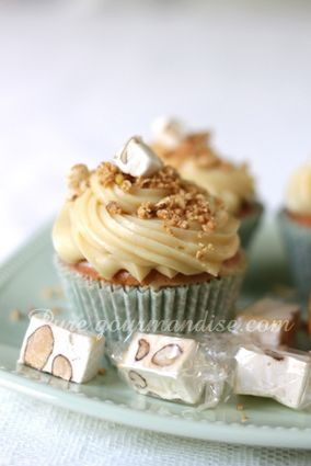 cupcakes au nougat