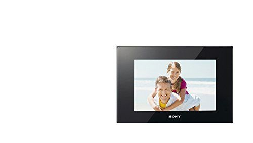 Sony DPF-D95 9-Inch LED Backlit Digital Photo Frame with Remote (Black) ** Click image to review more details.