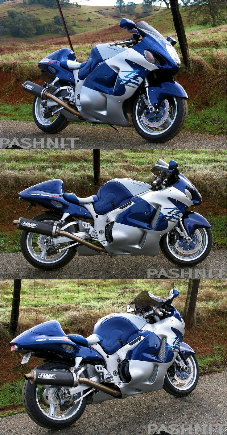 Beautiful 2000 Suzuki Hayabusa Built By Pashnit.com   Http://www.PashnitBusa