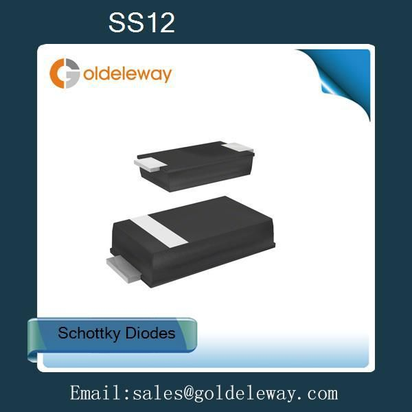 Find More Diodes Information about SS12 Schottky Barrier Diodes 20v 1A 500mV/0.5V SMA/DO 214AC marking SS12 low forward voltage low thermal resistance,High Quality thermal grease thermal resistance,China resistance contact Suppliers, Cheap resistance band exercises men from Goldeleway smart orders store on Aliexpress.com