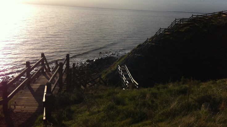 This is the Marion Coastal Walking Trail.  A unique walk way which juts up and down Marion's rugged coastline, taking people into the once inaccessible cliffs and conservation parks around Hallett Cove and Marino, South Australia.