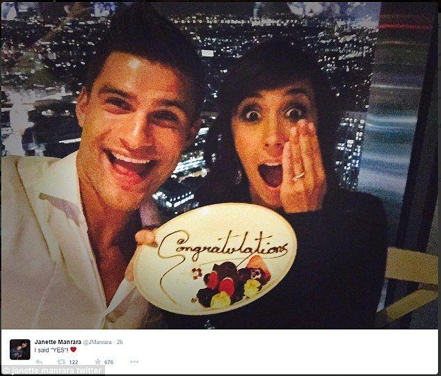 Strictly Come Dancing pros Aljaz Skorjanec and Janette Manrara engaged #dailymail
