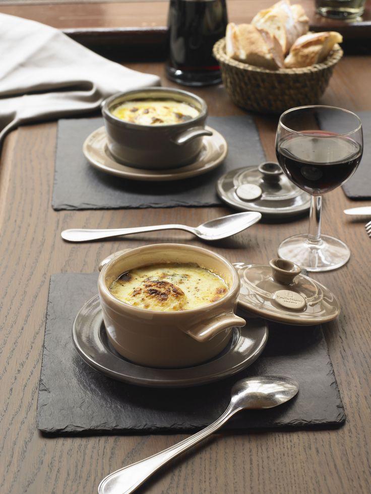 Naczynie MINI COCOTTE - beżowe - Emile Henry - DECO Salon  #soup #casserole #dessert #chocolate #fondue #kitchenaccessories #baking #giftidea