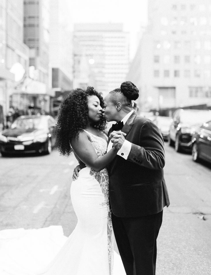 A Modern Winter Wedding In Brooklyn New York Brooklyn Wedding