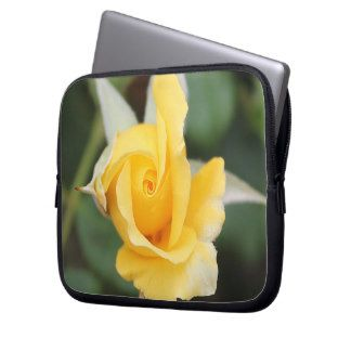 Yellow Rose Laptop Cover Laptop Computer Sleeve