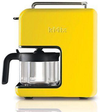 De'Longhi kMix 5 Cup Coffee Maker, Yellow