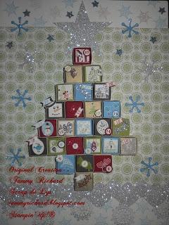 I made this X-mas tree advent calendar. check out my blog for more pics http://tammyrichard.blogspot.ca/2012/11/x-mas-tree-advent-calendar-itty-boxes.html