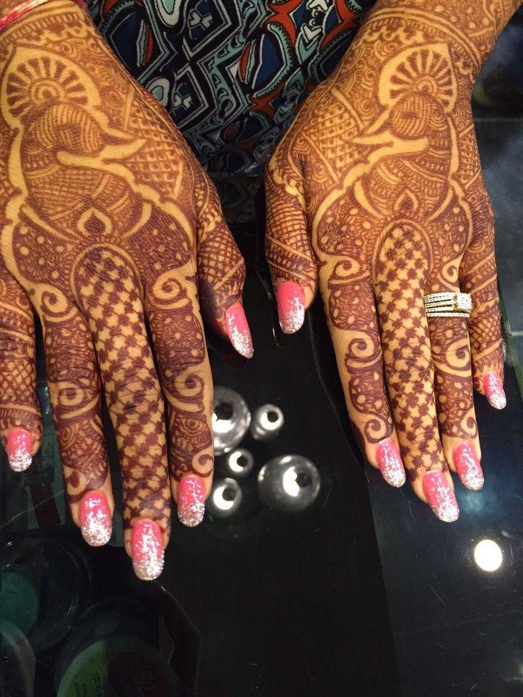 GILT Salon Nail Extensions - Gel Nail Enhancements. Nail Art - Gel nails - Gel Polish. Long Gorgeous Nails For a Gorgeous Bride. #notd