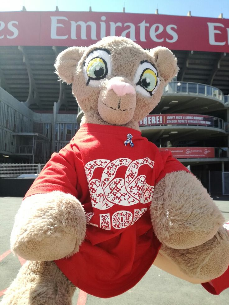 The Emirates Lions will be supporting World Autism Awareness Day during today's game against the Sharks, by wearing the white and blue ribbon.  #LeyaTheLion ##Liontainment #Lions4Life #EmiratesLion #EmiratesAirlinPark #ElsForAutism #AutismAwarenessDay #LIOvSHA