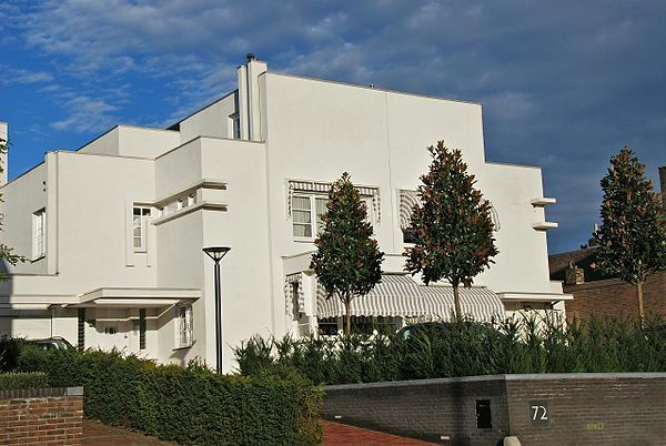 Frits Peutz - Casa blanca 1932, Houtem