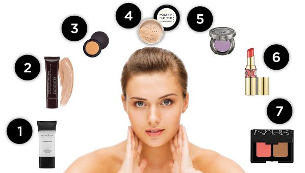 Makeup Application Steps How To Apply Makeup Best Makeup Application Tips Makeup Order How To Apply Makeup Makeup For Beginners
