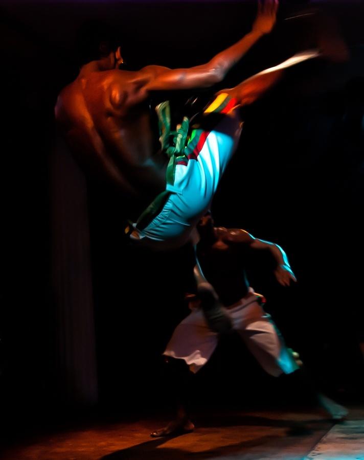 ♂ Martial Art Capoeira fighting