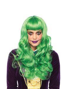 Misfit Villain Wavy Green Wig - 372626 | trendyhalloween.com