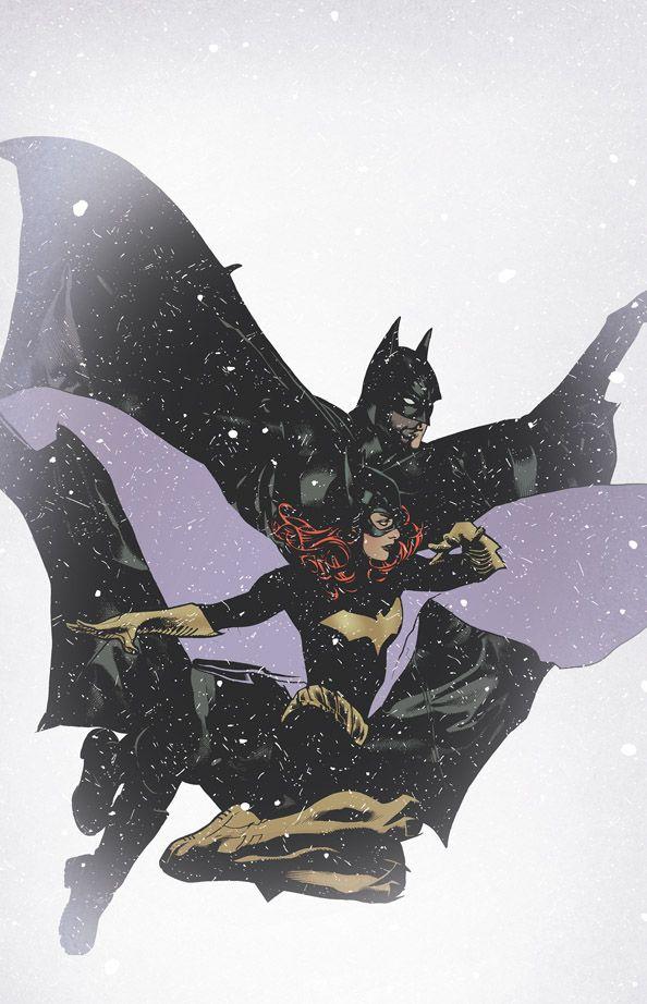 Batman & Batgirl by Adam Hughes