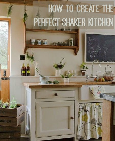 how to create a shaker style kitchen - Shaker Home Ideas