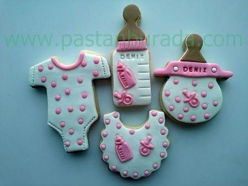 Bebek Doğum -Baby Shower- Kutlama Kurabiyeleri