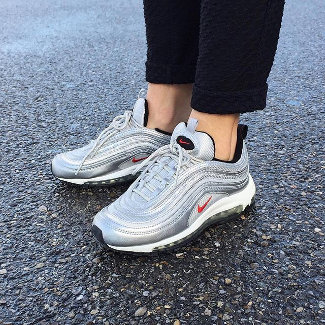 Cheap Nike AIR MAX 97 OG Silver Bullet Hype DC