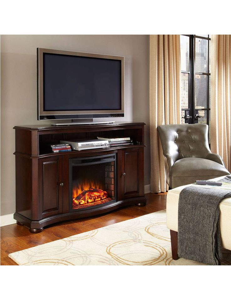 Pleasant Hearth Merrill Media Electric Fireplace Our First Home Pinterest Products Medium