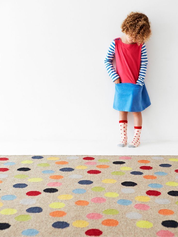 Party – Confetti by Armadillo and Co | handmade fair trade rugs
