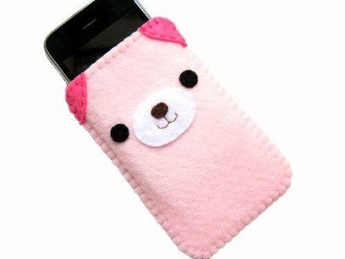 Pink Bear iPhone Case