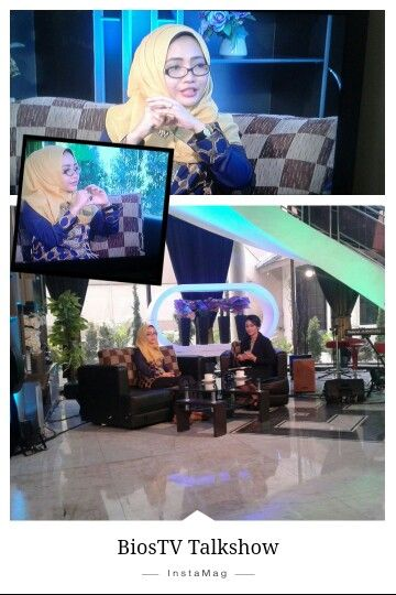 Televion Talkshow  Outer from Shajna hijab *Oct 2015