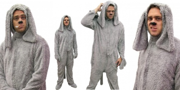 Wilfred Costume. This looks like comfy pajamas