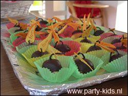 bommetjes - Traktatie snoep, Traktaties - En nog veel meer traktaties, spelletjes, uitnodigingen en versieringen voor je verjaardag of kinderfeest op Party-Kids.nl