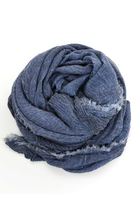 Hand made shawl from syster P. This is deluxe in blue. So soft and luxurious is this cashmere shawl, you'll end up wearing it with everything you own in your closet!