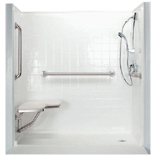 Handicap Bathroom Showers: 27 Best Handicap Bathrooms Images On Pinterest
