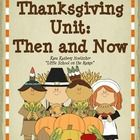 This unit contains: •	First Thanksgiving Fact Cards  •	Pocket Pattern for Fact Cards •	Let's Compare – Venn Diagram Activity •	Then and Now – Compa...