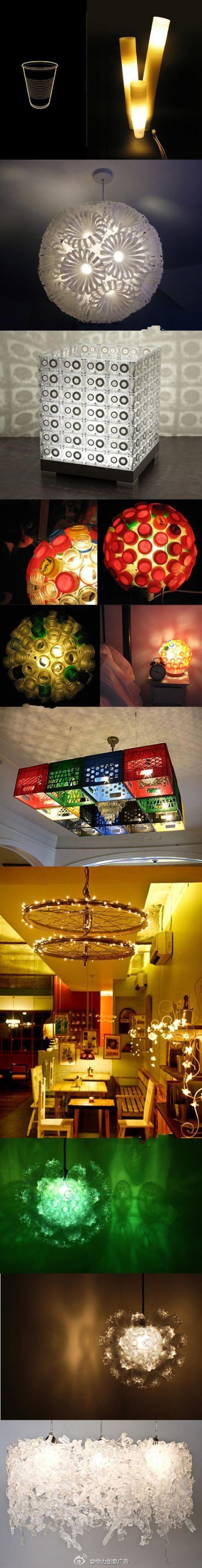 lamparas recicladas
