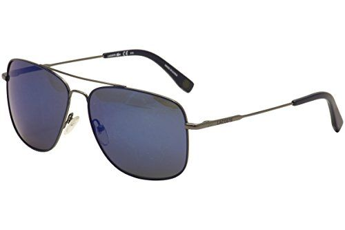 Lacoste L175S033 Mens L175S Gunmetal Sunglasses >>> Click image for more details.Note:It is affiliate link to Amazon.