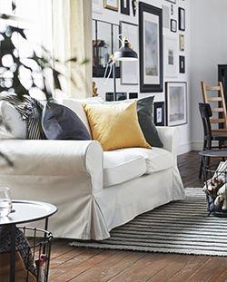 Awesome Soggiorno Ikea Bianco Pictures - Amazing Design Ideas 2018 ...
