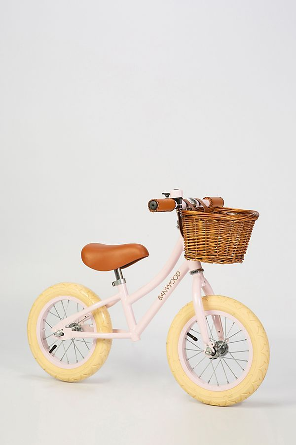 954575b2ac5 BANWOOD First Go! Pink Balance Bike | KIDS SPACES | Balance bike ...