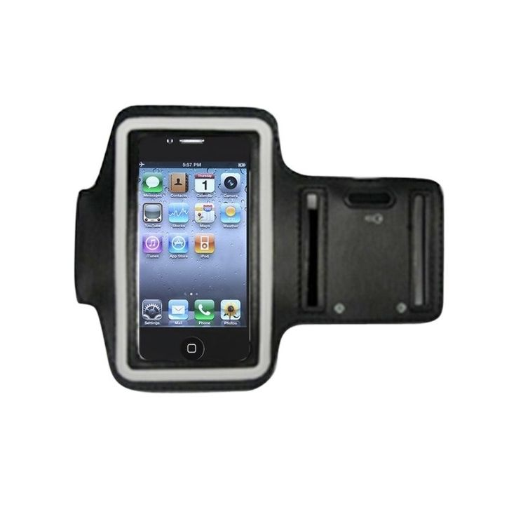Insten Sport Exercise Running Armband Phone Case Cover With Key Pocket For Apple iPhone 3G/ 3GS/ 4/ 4s #1739064