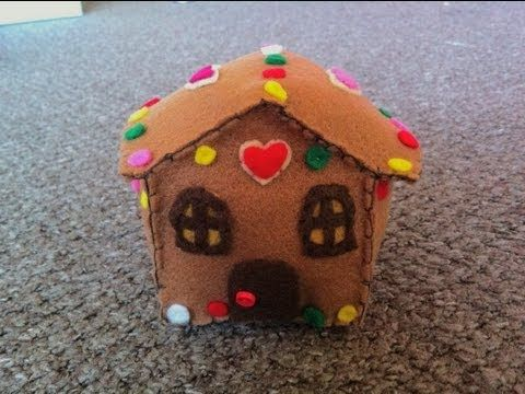 How to Make a Cute Gingerbread House Plush