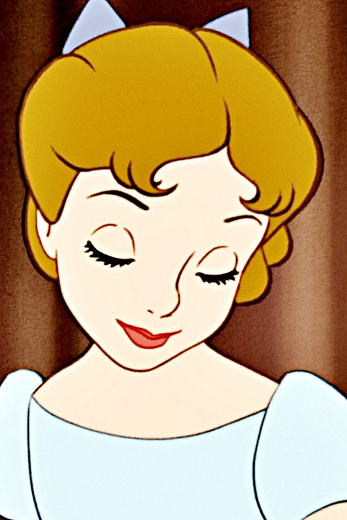 LOVELY WENDY- A DISNEY CLASSIC CHARACTER! UNFORGETTABLE. THANKS WALT FOR YOUR PERFECTION IN ANIMATION STORYTELLING!