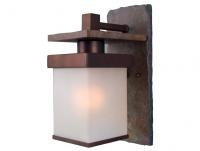 Cool! :)) Pin This & Follow Us! CLICK IMAGE TWICE for Pricing and Info :) #waterfountain #patiostuff   Outdoor Lantern - Kenroy 70281COP - Boulder 1 Light Small Wall Lantern Natural Slate - Copper. See More Outdoor Lanterns at http://www.zbuys.com/level.php?node=3951=outdoor-lanterns