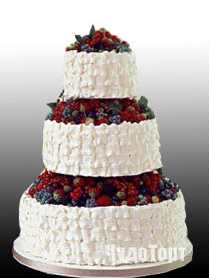 свадебный торт корзина с фруктами - Поиск в Google