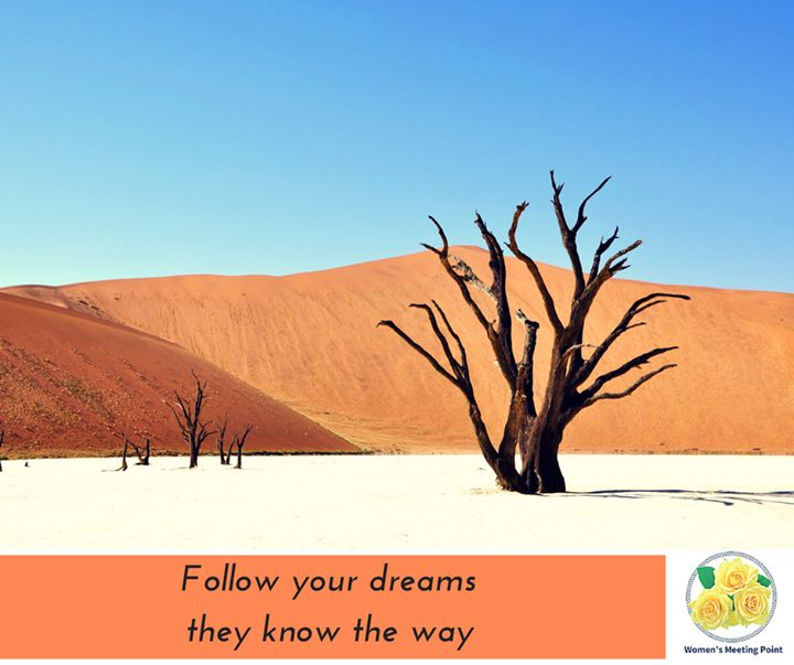 Follow your dreams they know the way - http://ift.tt/1HQJd81