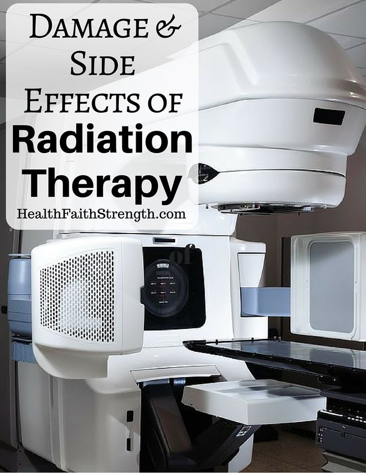 Damage and Side Effects of Radiation Therapy --- HealthFaithStrength.com